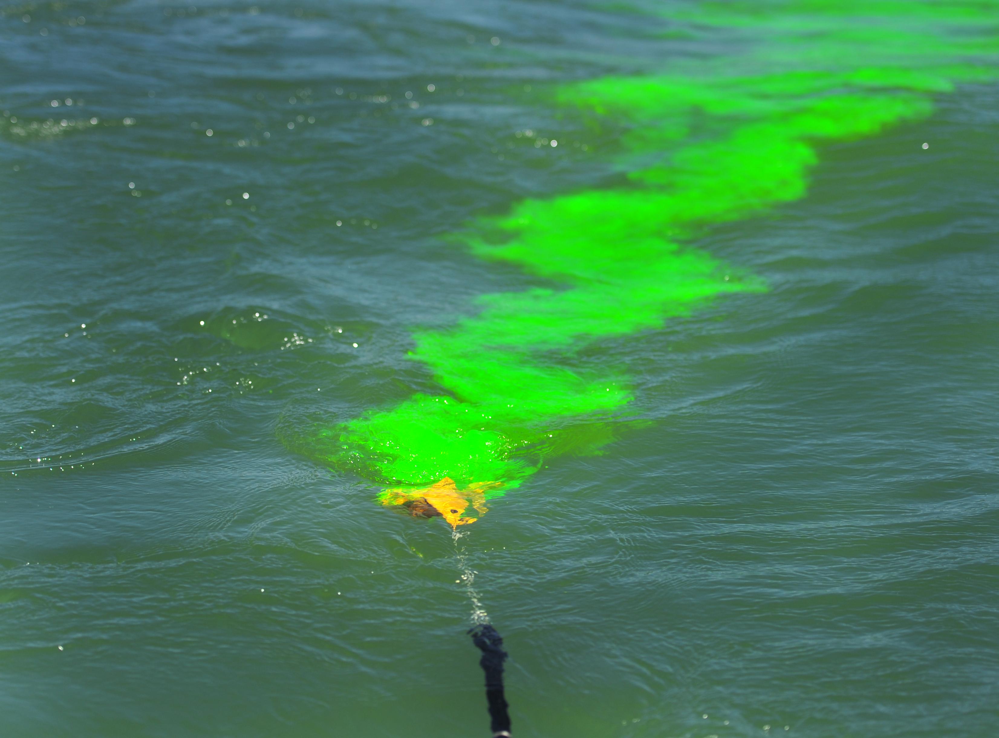 Sea Dye Marker   Lifesaving Systems Corp